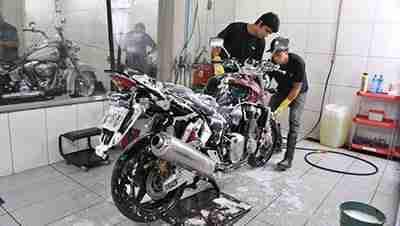 onde tem lava-rápido para motos
