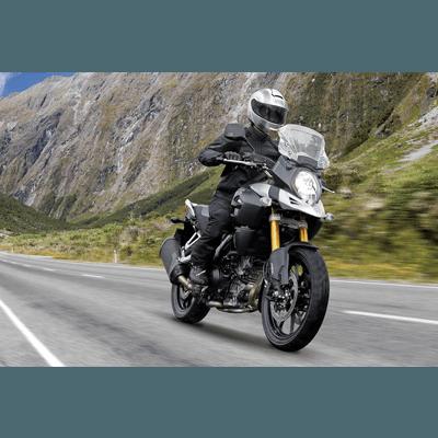 viajar de moto com SUZUKI VSTROM 650