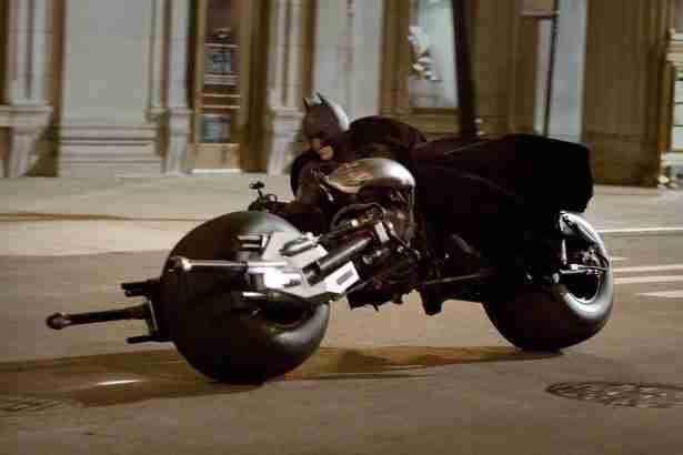 Batpod (protótipo inspirado na Dodge Tomahawk) – Batman – O Cavaleiro das Trevas (The Dark Knight) – 2008