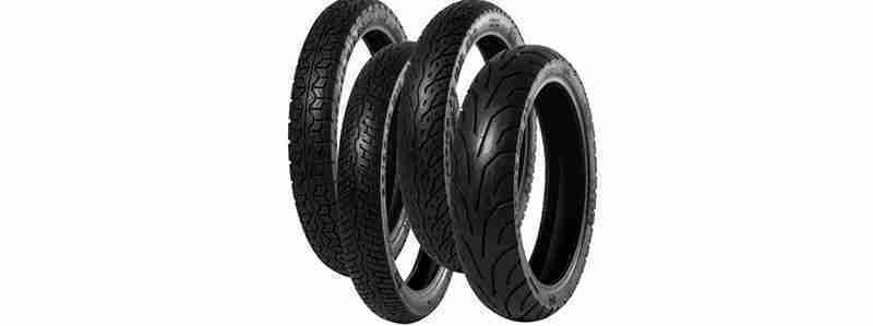 Quais são as diferenças entre os pneus de moto?