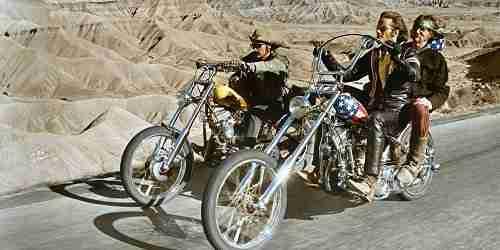 Harley-Davidson Chopper – Sem Destino (Easy Rider) -1969 - cinema