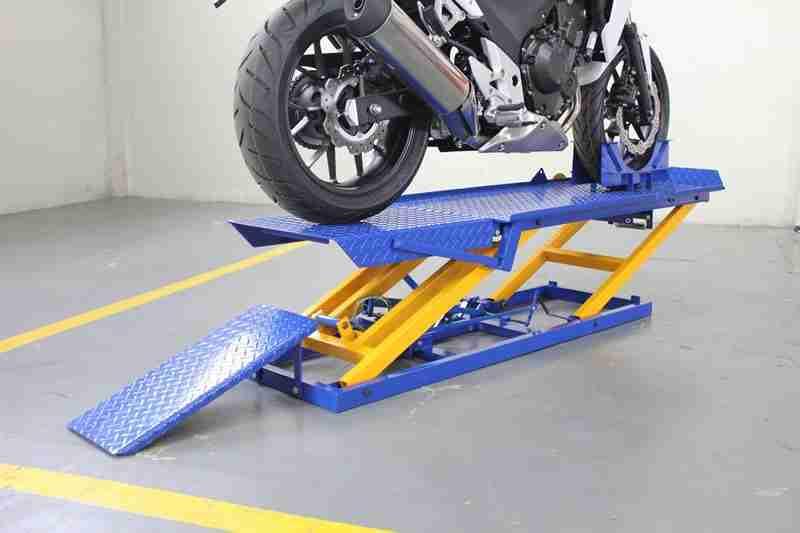 Rampa de Moto Hidráulica para 400 kg