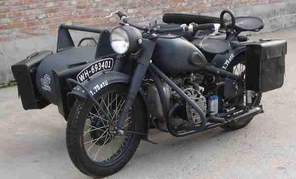 evolução das motos antigas da Alemanha