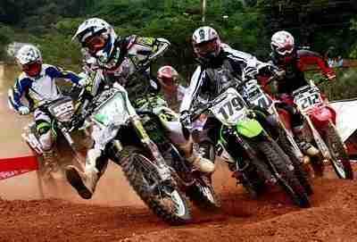 competição de Motocross feminino