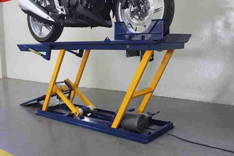 Elevador de Moto Elétrico 400 kg